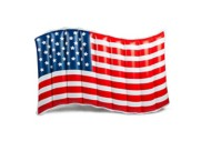 BigMouth Giant American Flag Float