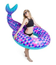 Big Mouth Giant Mermaid Tail Float