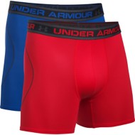 "Men's Under Armour Iso-Chill Mesh 6"" Boxerjock 2-Pack"