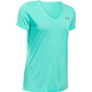 Women's Under Armour Threadborne Running Twist V-Neck T-Shirt
