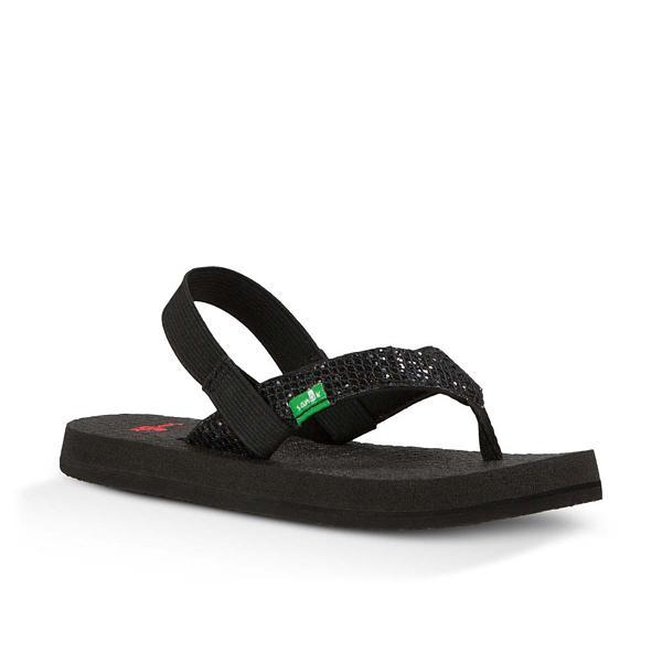 4c3e6be09724 Toddler Girl s Sanuk Yoga Glitter Sandals