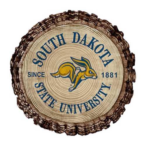 Legacy Athletic South Dakota State Jackrabbits Barky Wood Magnet