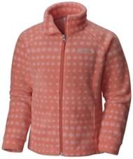 Youth Girls' Columbia Benton Springs Print Fleece Jacket