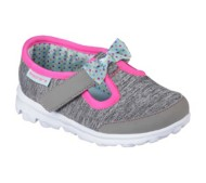 Toddler Girl's Skechers Go Walk Bitty Bow Shoes
