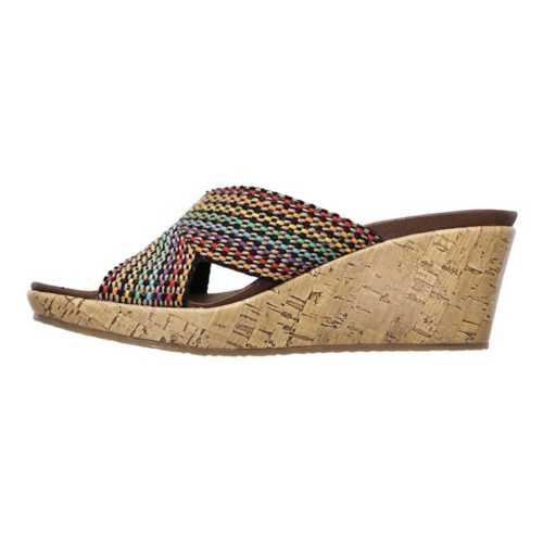Women's Skechers Beverlee Delight Wedge Sandals