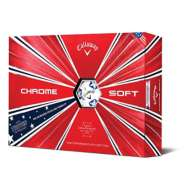 Callaway Chrome Soft Truvis Stars and Stripes Golf Balls 2019