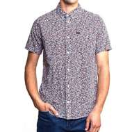 Men's Rvca Revivalist Floral Button Up Shirt