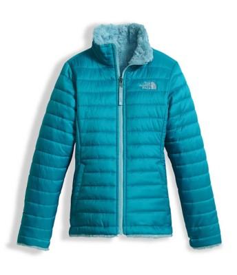 Grade School Girls' The North Face Mossbud Swirl Reversible Jacket