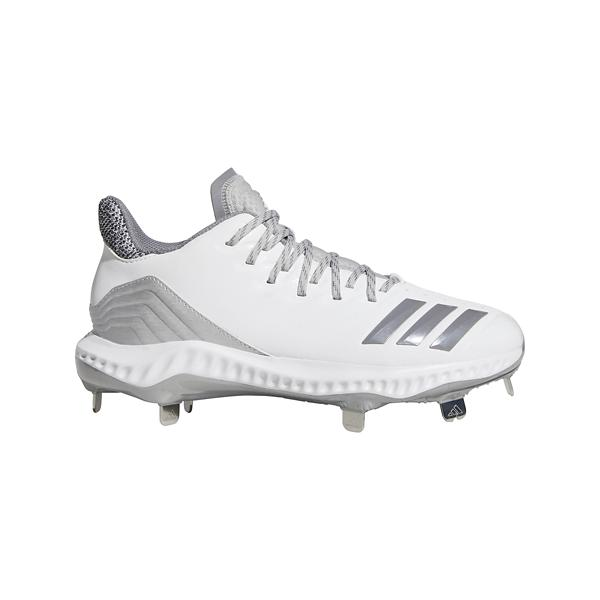 425bb30cc Tap to Zoom  Cloud White Grey Tap to Zoom  Women s adidas Icon Bounce Metal  Softball Cleats