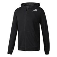 Men's adidas Cross-Up Full-Zip Hoodie