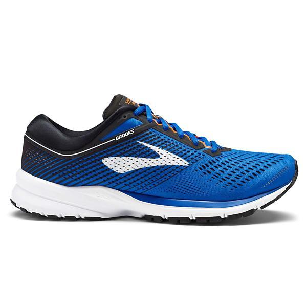 5e261d3af48 ... Men s Brooks Launch 5 Running Shoes Tap to Zoom  Blue Lime Tap to Zoom   Blue Black Orange