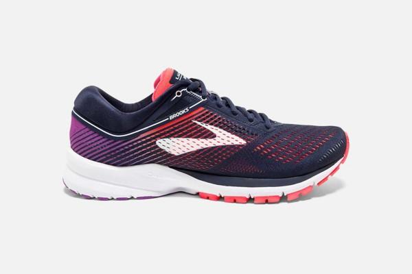 Navy/Coral/Purple