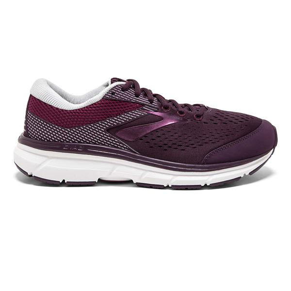 80442fb46ff ... Women s Brooks Dyad 10 Running Shoes Tap to Zoom  Purple Pink Grey