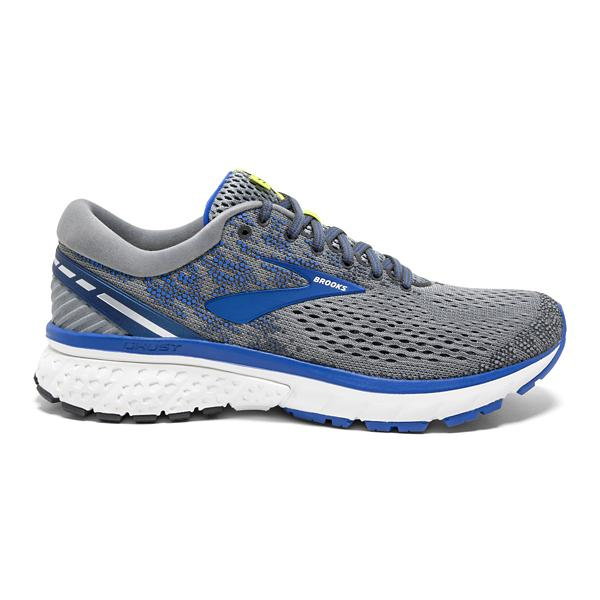 c3ee206f03c ... Men s Brooks Ghost 11 Running Shoes Tap to Zoom  Ebony Grey Silver Tap  to Zoom  Grey Blue Silver