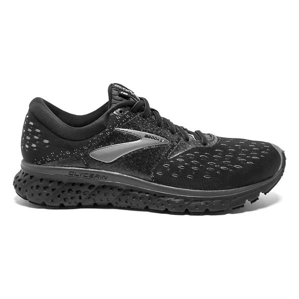293fa3429e703 ... Men s Brooks Glycerin 16 Running Shoes Tap to Zoom  Black Ebony