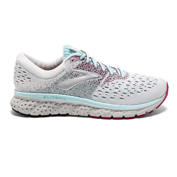 8a6408dee54 Tap to Zoom  Purple Pink Grey Tap to Zoom  Black Pink Grey Tap to Zoom  Women s  Brooks Glycerin 16 Running Shoes