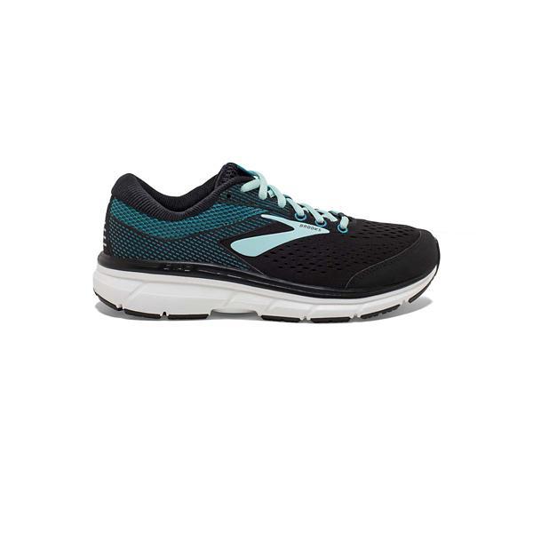 a764408b90b ... Women s Brooks Dyad 10 Running Shoes Tap to Zoom  Purple Pink Grey Tap  to Zoom  Black Island Capri