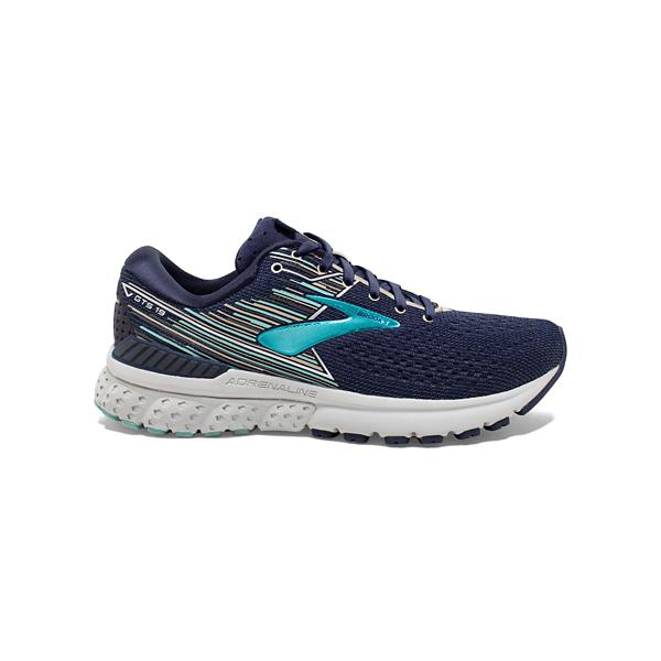 a469d4eade80d ... Women s Brooks Adrenaline GTS 19 Running Shoes Tap to Zoom  White Black  Tap to Zoom  Navy Aqua