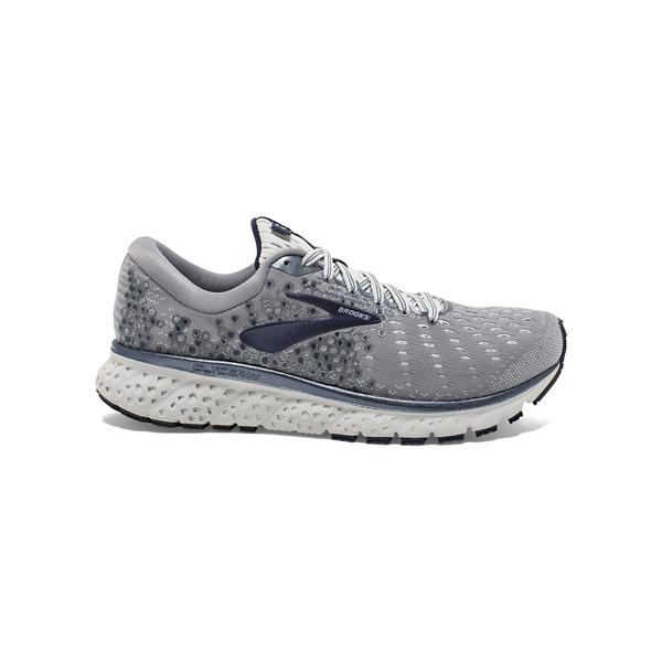 5d1ef416b0f ... Men s Brooks Glycerin 17 Running Shoes Tap to Zoom  Grey Navy White