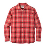 Men's Mountain Khaki Saloon Flannel Shirt