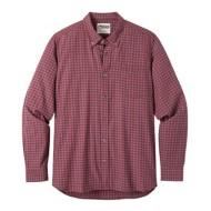 Men's Mountain Khaki Spalding Gingham Long Sleeve Shirt