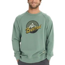 Men's Burton Retro Mountain Organic Long Sleeve Crew