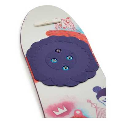 Youth Girls' Burton Chicklet Flat Top All Mountain Snowboard