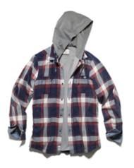 Men's Flag & Anthem Shiloh Shirt Hooded Jacket