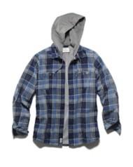 Men's Flag & Anthem Rennert Shirt Hooded Jacket