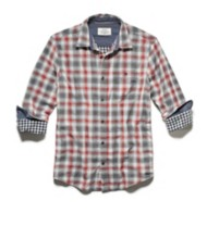 Men's Flag & Anthem West Double Layer Shirt