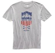 Men's Flag & Anthem Mountain Shield T-Shirt