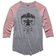 Men's Flag & Anthem Mountain Riser Raglan