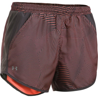 Women's Under Armour Fly By Printed Short