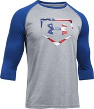 Men's Under Armour Plate Icon 3/4 Sleeve Shirt