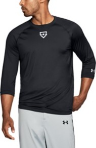 Men's Under Armour IL Heater 3/4 Sleeve Shirt