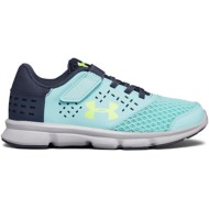 Preschool Girls' Under Armour Rave Alternative Closure Running Shoes