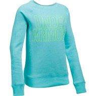 Youth Girls' Under Armour Favorite Fleece Crew Sweatshirt
