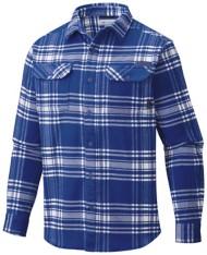 Men's Columbia Collegiate Flare Gun Flannel Long Sleeve Shirt