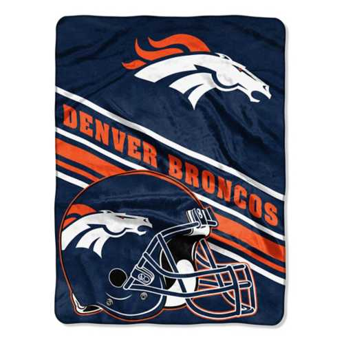 Northwest Company Denver Broncos 60X80 Royal Plush Blanket