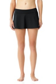 Women's Anne Cole Solid Rock Skort