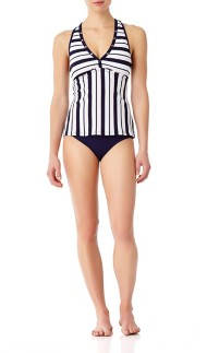 Women's Anne Cole Racer Meshback Tankini Top