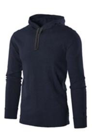 Men's Colosseum Dodge Hooded Long Sleeve Shirt
