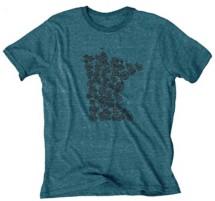 Women's Blue 84 Minnesota Cycling Short Sleeve Shirt