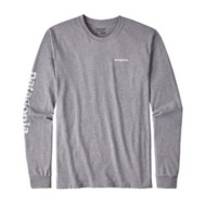 Patagonia Men's Text Logo Long Sleeve Shirt