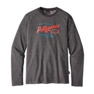 Men's Patagonia Splitter Script Lightweight Crew Sweatshirt
