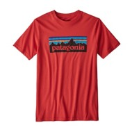 Youth Boys' Patagonia P-6 Logo Organic T-Shirt