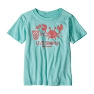 Youth Patagonia Live Simply Organic T-Shirt