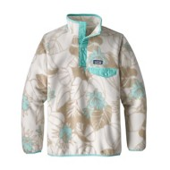 Youth Girls' Patagonia Lightweight Synch Snap-T Pullover