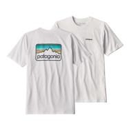 Men's Patagonia Patagonia Line Logo Badge Responsibili-T Shirt