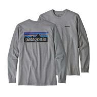 Men's Patagonia P-6 Logo Long Sleeve Responsibili-Tee